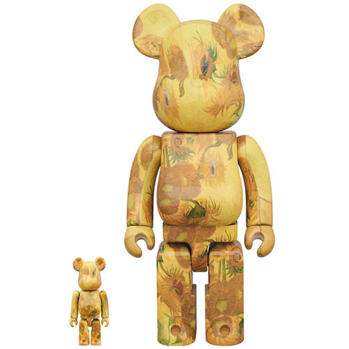 BE@RBRICK 「Van Gogh Museum」 Sunflowers 100% & 400%《Planned to be shipped in late December 2019》