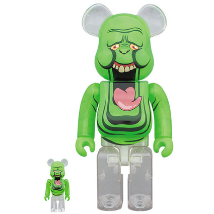 BE@RBRICK SLIMER(GREEN GHOST) 100% & 400%《Planned to be shipped in late December 2019》