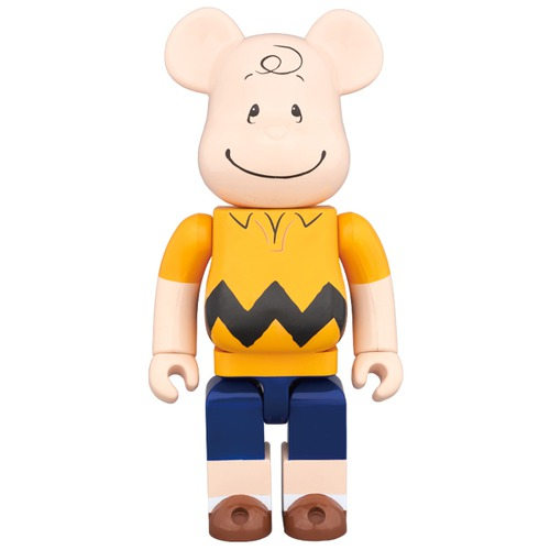 BE@RBRICK CHARLIE BROWN 400%《Planned to be shipped in late July 2017》