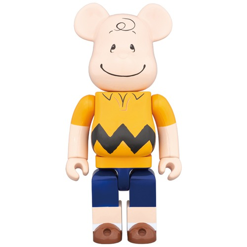 BE@RBRICK CHARLIE BROWN 1000%《Planned to be shipped in late July 2017》