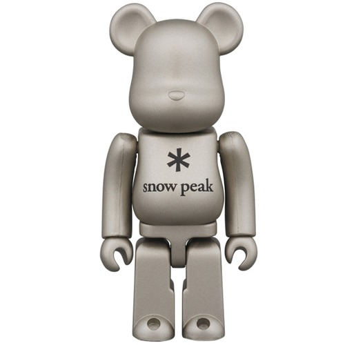 BE@RBRICK snow peak 100%