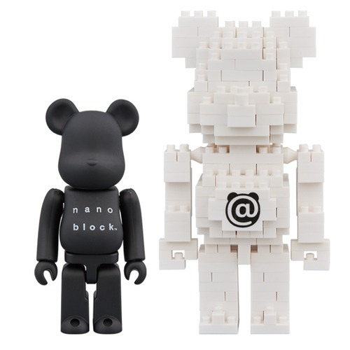 BE@RBRICK × nanoblock TM 2PACK SET B《Planned to be shipped in late August 2018》