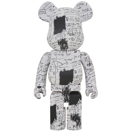 BE@RBRICK JEAN-MICHEL BASQUIAT #3 1000%《Planned to be shipped in late June 2019》