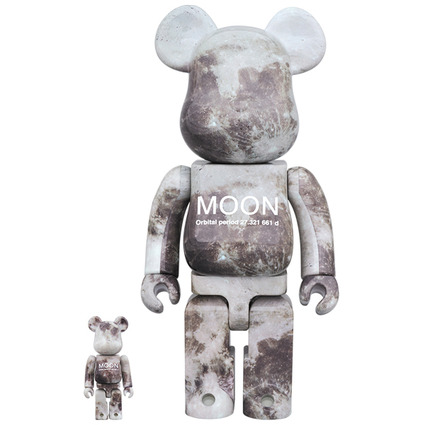 MOON BE@RBRICK 100% & 400%
