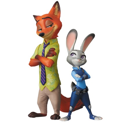 UDF Disney series 7 Judy Hopps & Nick Wilde《Planned to be shipped in late November 2018》