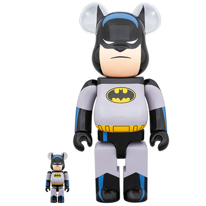 BE@RBRICK BATMAN ANIMATED 100% & 400%《Planned to be shipped in late November 2019》
