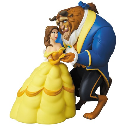 UDF Disney series 7 The Beast & Belle《Planned to be shipped in late November 2018》