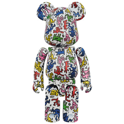 Super alloyed BE@RBRICK KEITH HARING