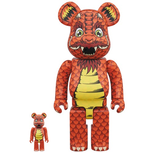 BE@RBRICK Steve Caballero 100% & 400%《Planned to be shipped in late October 2018》