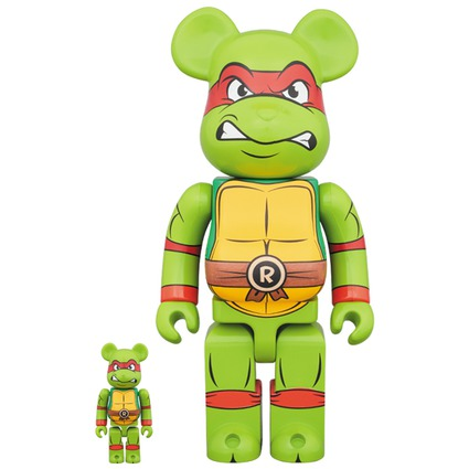 BE@RBRICK Raphael 100% & 400%《Planned to be shipped in late October 2017》