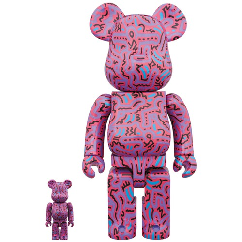 BE@RBRICK KEITH HARING #2 100% & 400%《Planned to be shipped in late September 2018》