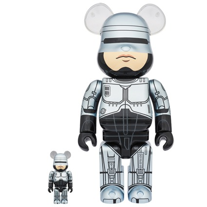 BE@RBRICK ROBOCOP 100% & 400%《Planned to be shipped in late May 2018》