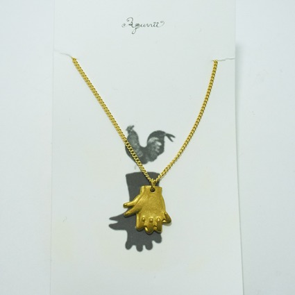 hand shadow necklace / cock // Accessories / Tableware
