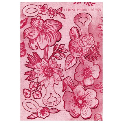 SuLA Ribbon Flower / Pink