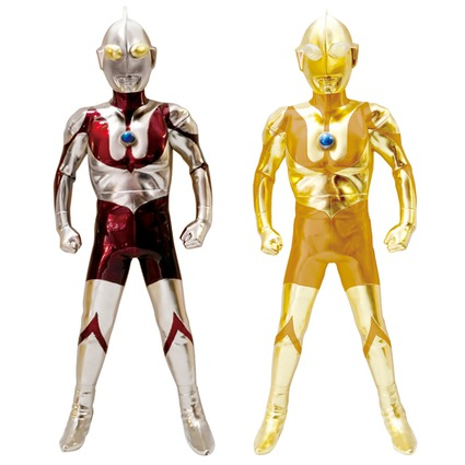 Hyper Sofubi Ultraman  Platinum Ver./Gold Ver.《Planned to be shipped in late March 2017》