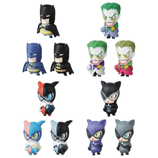 MVP(MICRO VINYL PLEASURE) SERIES 1 DC Characters 1 Batman/Joker/Harley  Quinn/Cat Woman