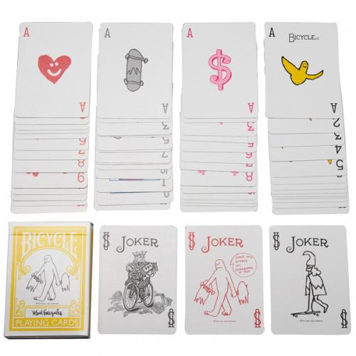 BICYCLE PLAYING CARDS Mark Gonzales