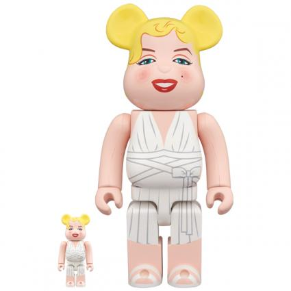 BE@RBRICK Marilyn Monroe 100% & 400%《Planned to be shipped in late September 2019》