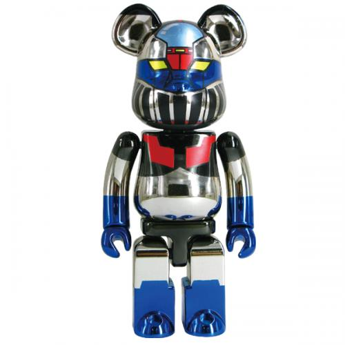 Super alloyed BE@RBRICK Mazinger Z (gold-plating Ver.)