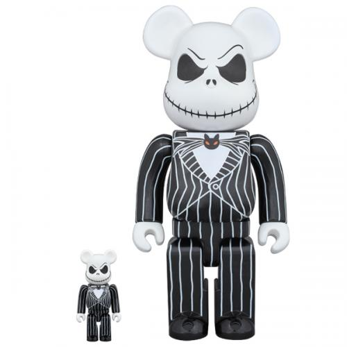 BE@RBRICK Jack Skellington 100% & 400%《Planned to be shipped in late October 2017》