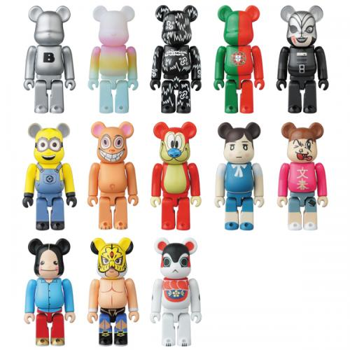 BE@RBRICK SERIES 34《Planned to be shipped in late June 2017》