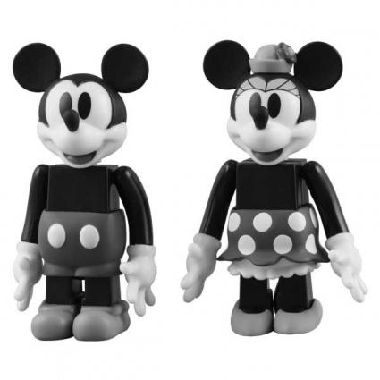 MICKEY MOUSE & MINNIE MOUSE (BLACK & WHITE ver.)