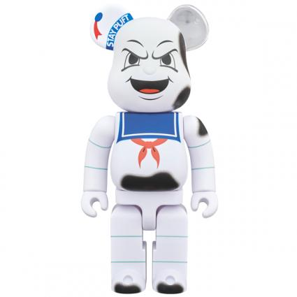 "BE@RBRICK STAY PUFT MARSHMALLOW MAN ""ANGER FACE"" 400%《Planned to be shipped in late October 2018》"