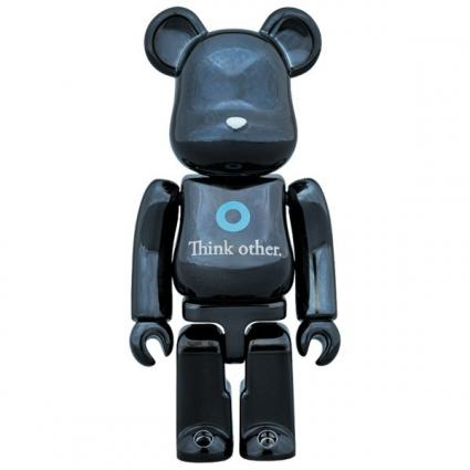 BE@RBRICK i am OTHER BLACK Ver.100%《Planned to be shipped in late November 2017》