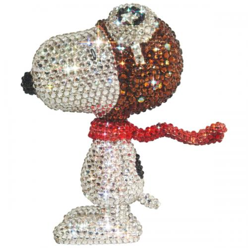 UDF CRYSTAL DECORATE SNOOPY SNOOPY THE FLYING ACE《Planned to be shipped sequentially from November 2019》