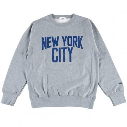 CREW NECK SWEAT NEW YORK CITY