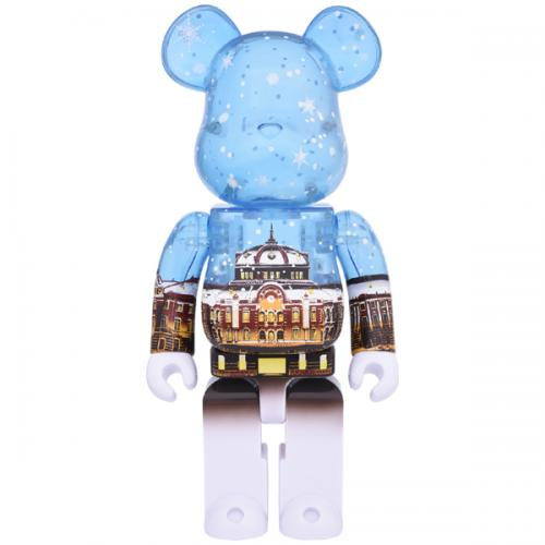 BE@RBRICK Tokyo Station Marunouchi frontage model Snow Ver. 400%