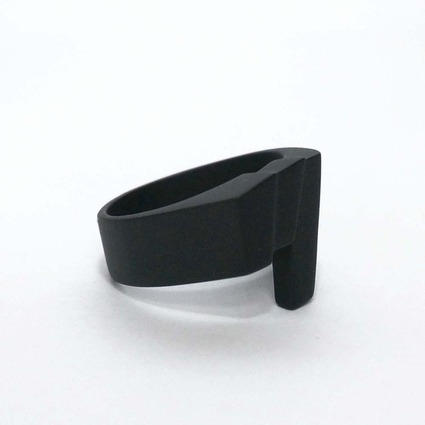 SFX ring「tsu」 color BLACK【Pre-Order】 // RGB Laboratory