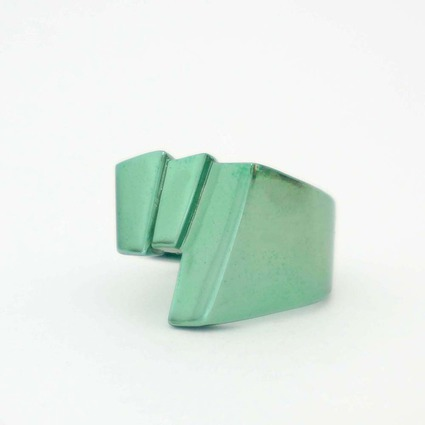 SFX ring「tsu」 color GREEN【Pre-Order】 // RGB Laboratory