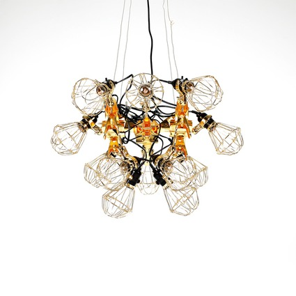 Reconstruction Chandelier // kyouei design