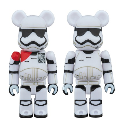 FIRST ORDER STORMTROOPER(TM) OFFICER & FIRST ORDER STROMTROOPER(TM) BE@RBRICK STAR WARS(TM) 2PACK《2017年12月発売予定》