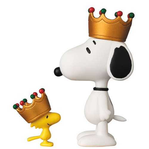 UDF PEANUTS シリーズ6 CROWN SNOOPY & WOODSTOCK