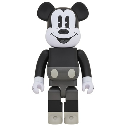 BE@RBRICK MICKEY MOUSE (B&W Ver.) 1000%