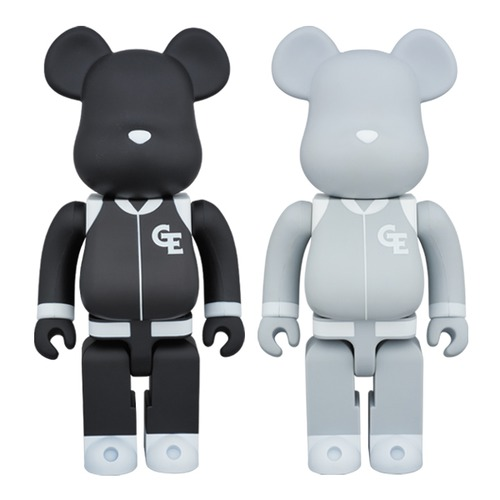 "BE@RBRICK GOODENOUGH ""Classics"" 400% BLACK/GRAY"