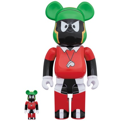 BE@RBRICK MARVIN THE MARTIAN 100% & 400%《2018年11月発売・発送予定》