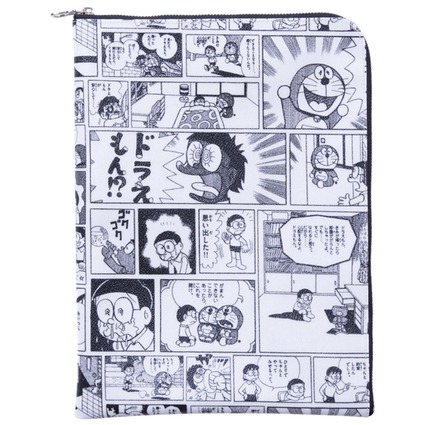 MLE FABRICK ドラえもんシリーズ DOCUMENT CASE A4
