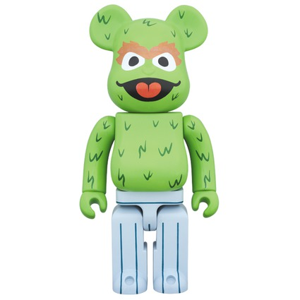 BE@RBRICK OSCAR THE GROUCH 400%《2017年8月発売・発送予定》