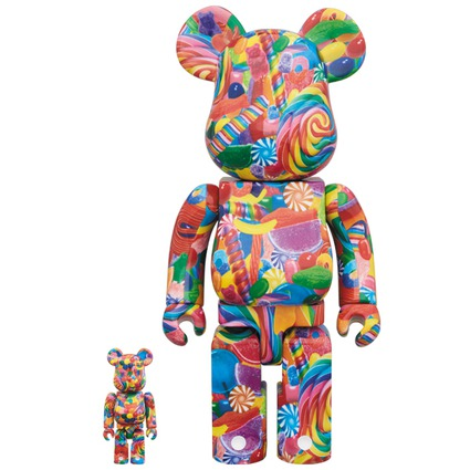 BE@RBRICK DYLAN'S CANDY BAR 100% & 400%《2018年6月発売・発送予定》