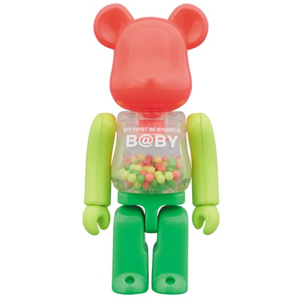 MY FIRST BE@RBRICK B@BY NEON Ver. 100%