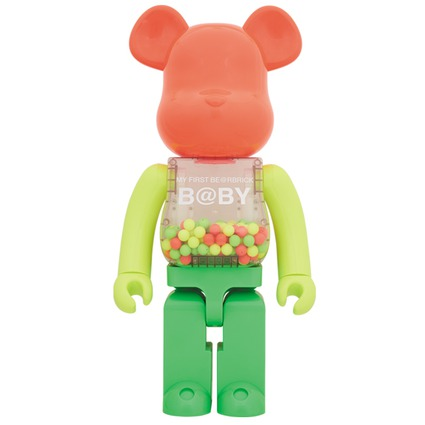MY FIRST BE@RBRICK B@BY NEON Ver. 1000%
