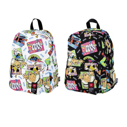 MLE KINNIKUMAN シリーズ KINNIKUMAN BACK PACK WHITE/BLACK