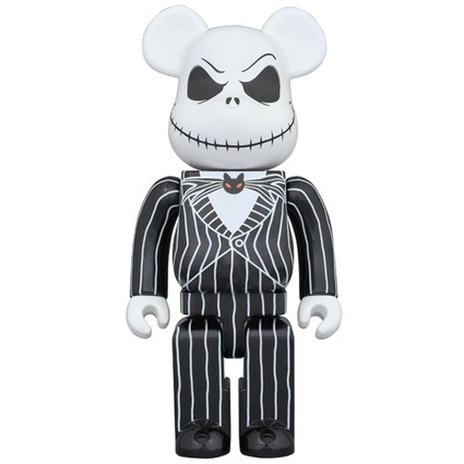 BE@RBRICK Jack Skellington 1000%《2017年10月発売・発送予定》
