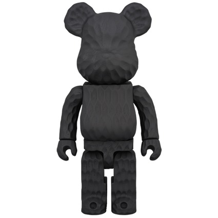 BE@RBRICK カリモク fragment design 400% carved wooden