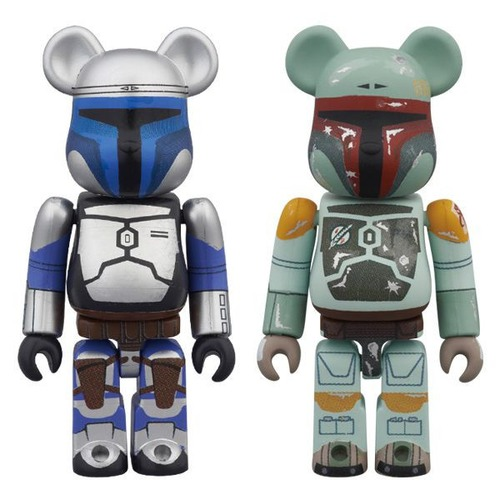 JANGO FETT(TM) & BOBA FETT(TM) BE@RBRICK STAR WARS 2PACK
