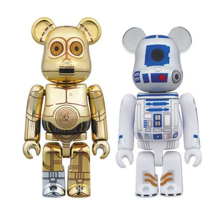C-3PO(TM) & R2-D2(TM) BE@RBRICK STAR WARS 2PACK