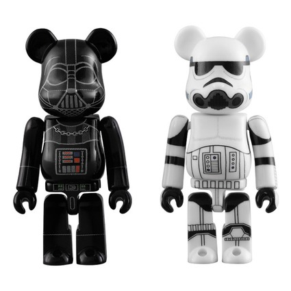 DARTH VADER(TM) & STORMTROOPER(TM) BE@RBRICK STAR WARS 2PACK